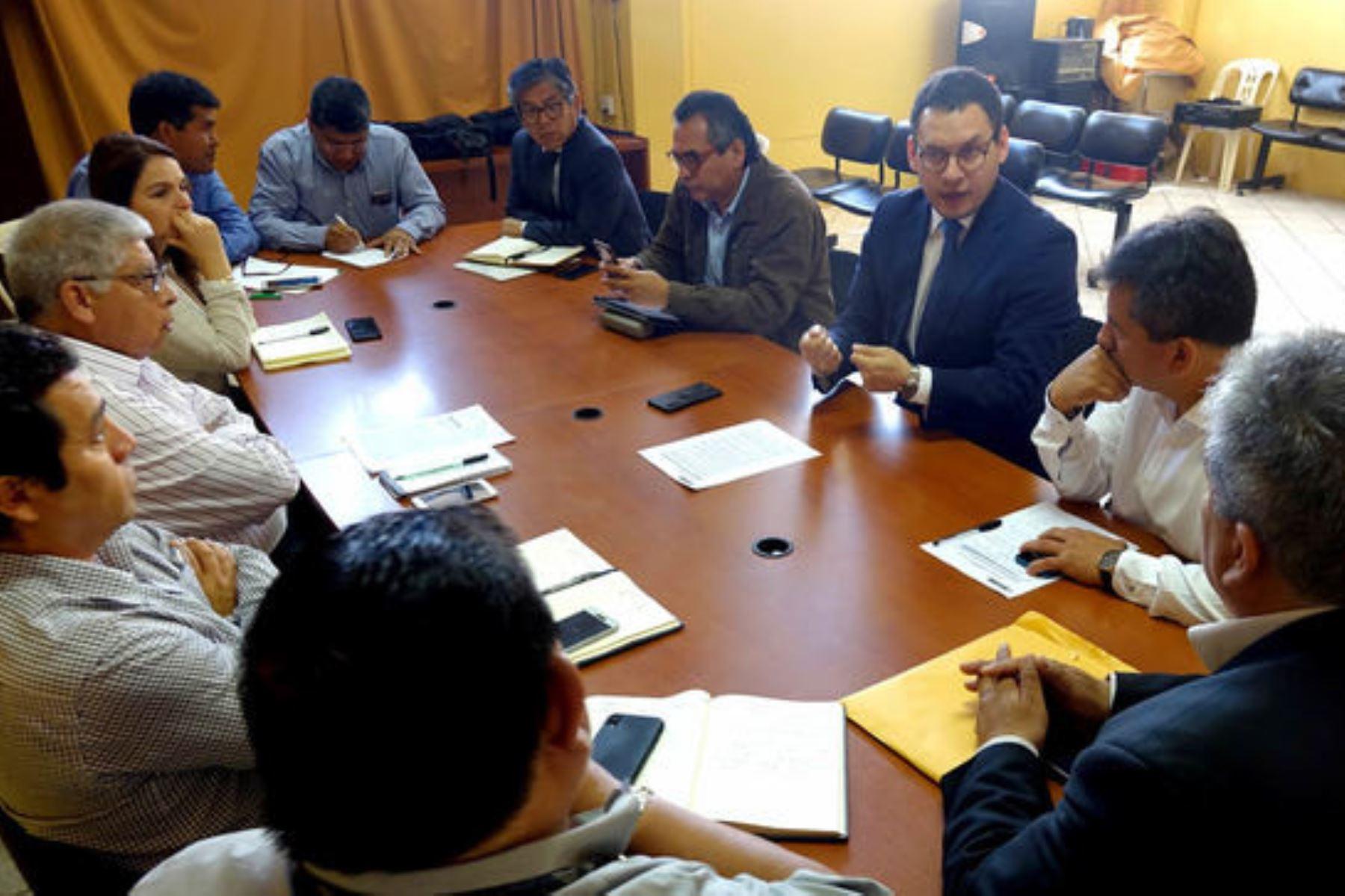 Conforman comisión técnica para plan de emergencia de Universidad Nacional de Ica - Radio Nacional del Perú