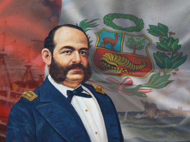 Miguel Grau  Hoy Se Conmemora El 137 Aniversario Del