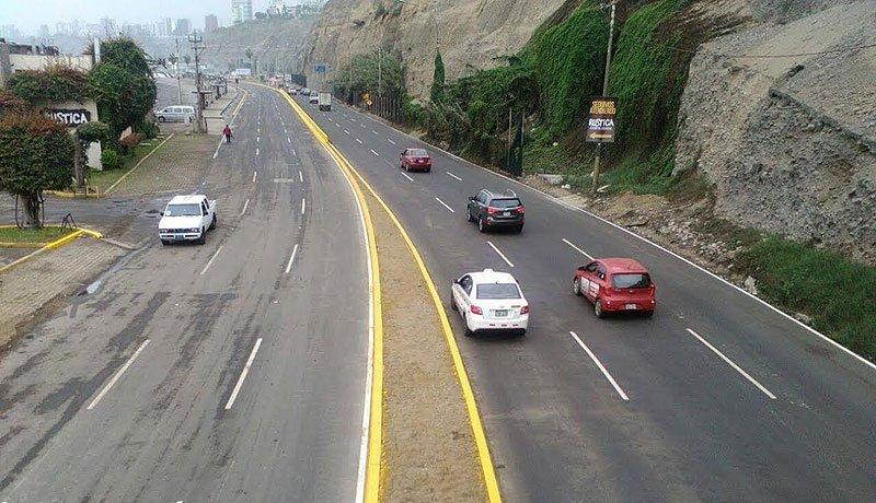 Circuito Vial : Contraloría inspecciona circuito vial de la costa verde