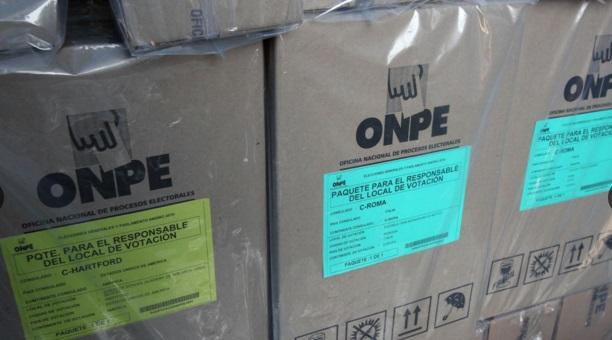 Onpe despliega hoy material electoral al interior del pa s for Interior elecciones