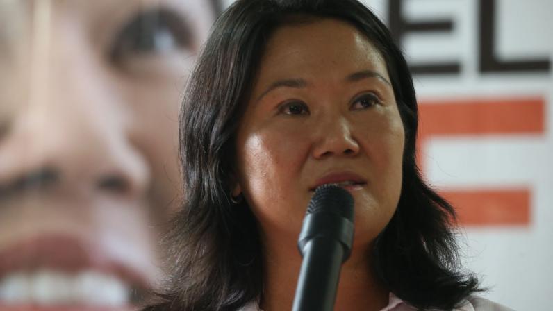 Corte Suprema de Perú reduce prisión preventiva a Keiko Fujimori