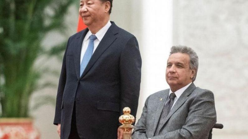 China prestó a Ecuador 1.000 mil millones de dólares