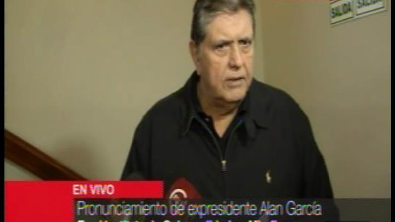 Alan García: Fiscalía abrió investigación por presunto 'chuponeo' a expresidente aprista