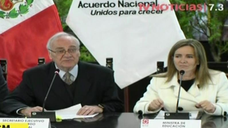 Acuerdo Nacional pide a docentes reanudar las clases   Nacional FM