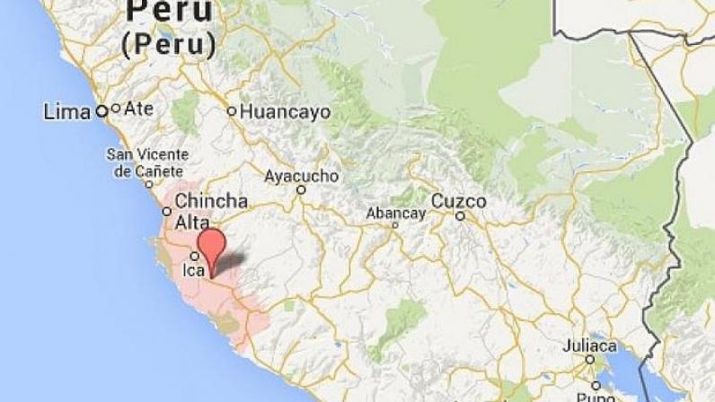 """Amanece en Perú con sismo de 5.8"""""""