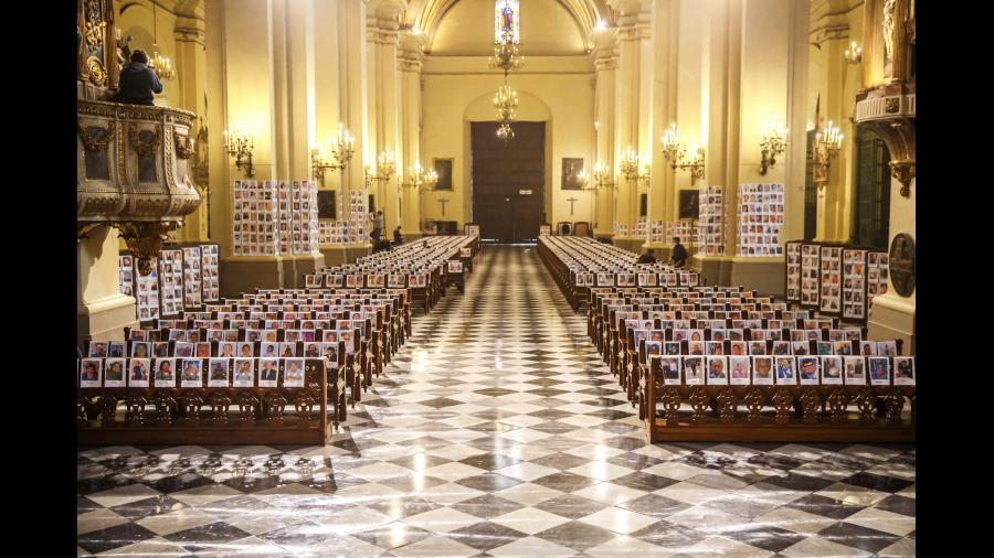 Así amaneció la catedral de Lima