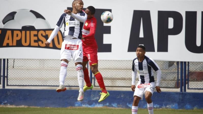 Sport Huancayo y Alianza Lima empataron 1-1 en el estadio Iván Elías Moreno