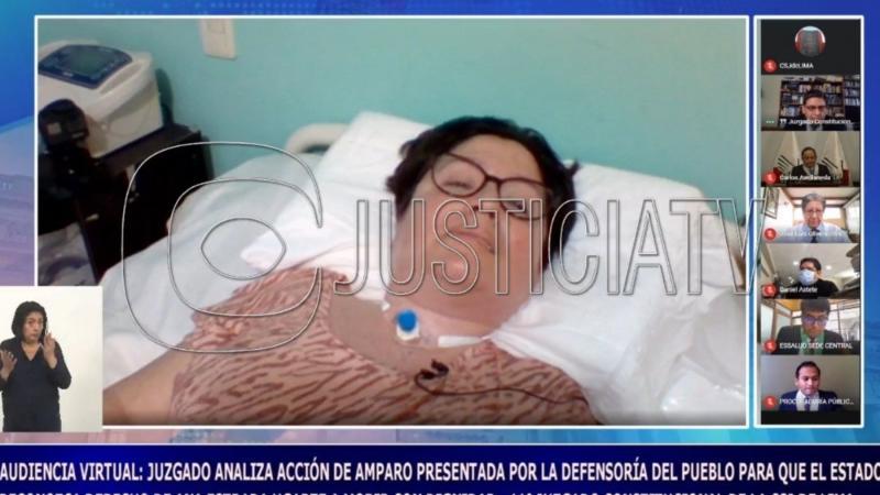 Fallo histórico: Justicia peruana autorizó eutanasia de una mujer con enfermedad degenerativa