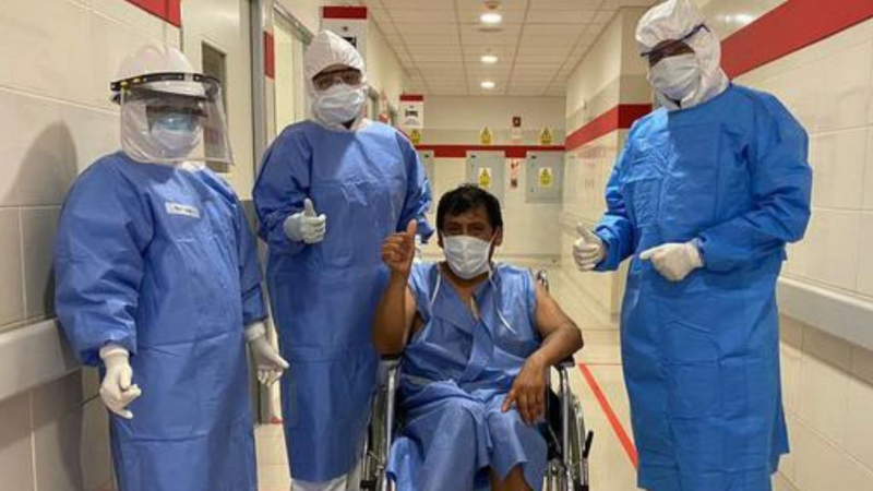 Covid-19: el número de contagios acumula 814829 casos en el Perú