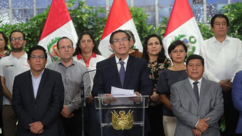 Resultado de imagen para presidente martín vizcarra